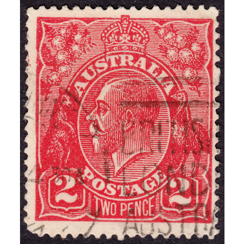 2d Red Single Wmk var 16R5 1st State GU