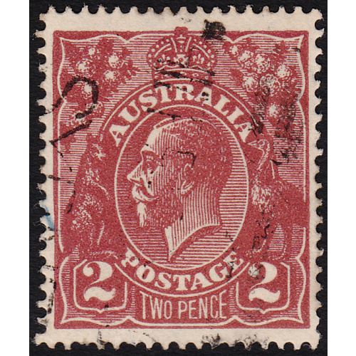 2d Red-Brown, Single Wmk, var 16R10 FU