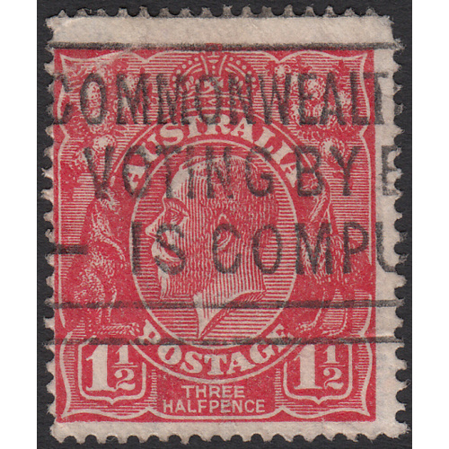 1&1/2d Red, Single Wmk, var 22R48, GU